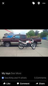 87 honda cbx great bike