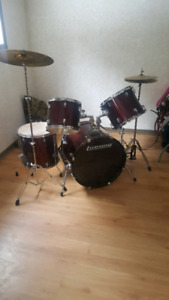 Ludwig drum set barely used