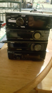 4 CD players and scosche 500k micro faread