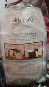Lady bug 6- piece crib set - Kids Line