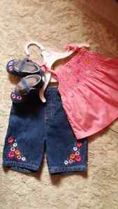 Brand new summer outfit size 3-6 months Kitchener / Waterloo Kitchener Area image 1
