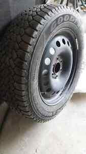 Nordic Winter Tires on Rims Peterborough Peterborough Area image 1