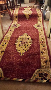 35ft x 2.5ft Synthetic Blend Hallway/Stair Runner London Ontario image 1