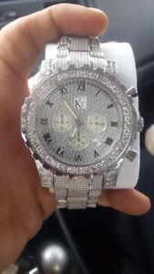 11 carat diamond watch