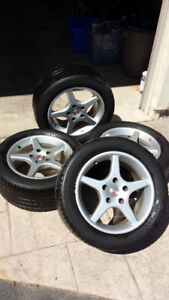 "16"" Summer Tires With Rims!! Michelin - 225/50R16 - 5x130mm"