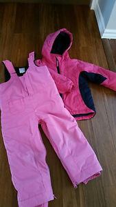 Girl's Snow pants and winter jacket size 4T Children's Place