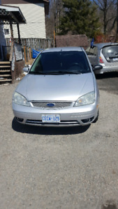2005 Focus ST with 5 speed manual. Low kms