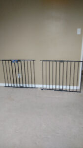 Two gates for child or pet safty