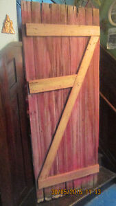 antique 105yr old Barn Door: Great 4 Coffee Table Project!