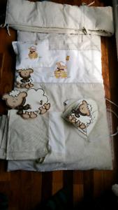 Literie/ ensemble de lit bébé unisexe
