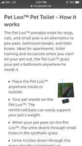 Pet Loo - puppy training or great for small dogs