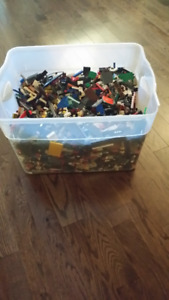 Bulk Lego Over 30 pounds of Lego Assorted colors and sizes