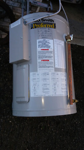 Hot water tank electric