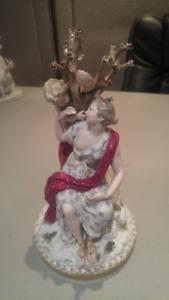 2 Figurines Meissen en porcelaine