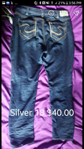SILVER jeans $40.00