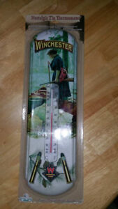 winchester tin therometer new in package indoor/outdoor
