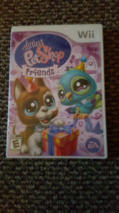 Wii Littlest Pet Shop Friends Game