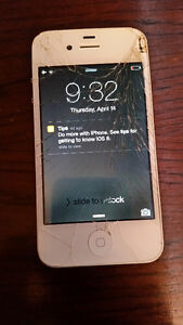 iPhone 4S - 16GB - Fully Works - WHITE - Rogers