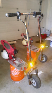 2 Gas powered scooters
