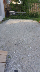 Free fine limestone interlocking sand