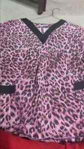 Size xl scrub tops