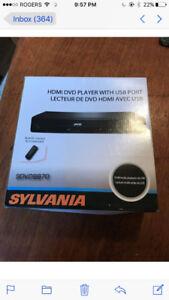 Sylvannia DVD player
