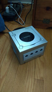 GameCube console and game