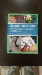 Animal Care Textbook- Surgical Patient Care for Vet Techs & Nurs