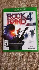 Rock band 4 band in a box bundle (Xbox One)