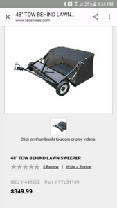 """48"""" Lawn sweeper"""