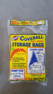"Jumbo Heavy Weight Storage or Mattress Bag 60""x 108"" (1 avail)"