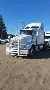 "9 - 2012 Kenworth T800 with 72"" AeroCab sleepers"