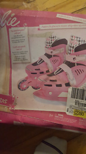 Girls 2 in 1 skates and roller blades