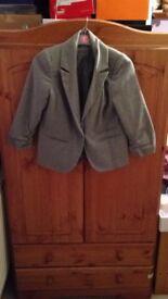 Smart Grey Blazer - Size 12