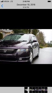 Immaculate Honda Odyssey RB1 from Japan