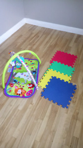 Kid pad and chair