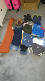 Boys clothes & shoes clear out