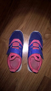 Girls Adidas running shoes Size 2