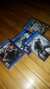 New black ops 3 , gta 5, watchdogs and destiny 2 game bundle