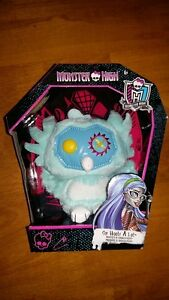 Monster High Sir Hoots A Lot Plush Property of Ghoulia Yelps
