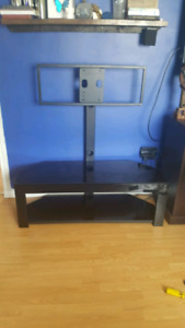 T.V STAND $60 o.b.o  holds t.v up to 52inch