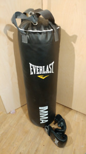 Everlast 70lbs Punching Bag w/ Accessories