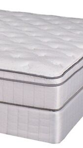 NEW Double Thick Pillow-top 2pce Mattress+Box Only $400
