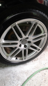 OEM Audi S-line Rims and Tires