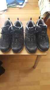 2 pairs of steel toed shoes