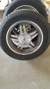 "20"" dodge ram winter tires and rims"