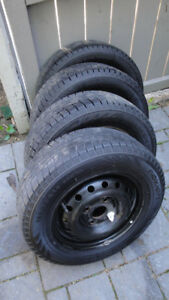 Mounted snow tires - Hakkapeliitta -185/70R14  92R  XL