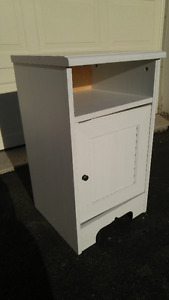 White IKEA nightstand for sale