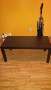 Ikea black coffee table