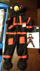 4T toddler fireman costume